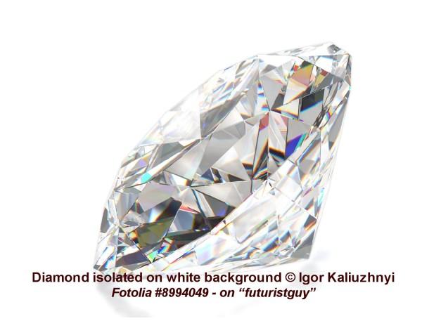 Diamond, © Igor Kaliuzhnyi / F0T0LIA #8994049