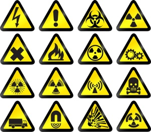 vector work hazard signs - set 1 © awx // Fotolia #12754311