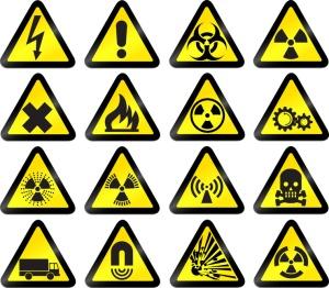 vector work hazard signs - set 1 © awx // Fotolia #12754311