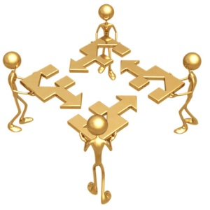 teamwork connection © Scott Maxwell // Fotolia #778041