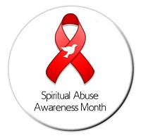 "January is ""Spiritual Abuse Awareness Month"""