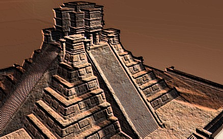 """Mayan Temple"" © George Bailey / Fotolia #16000920."