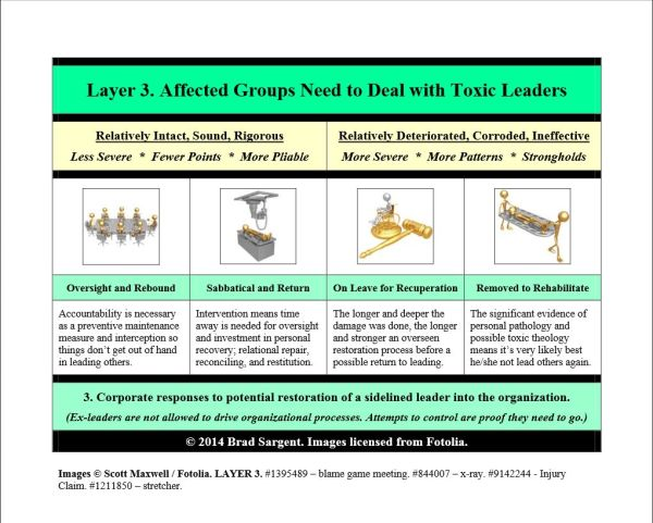 Step 5, Layer 3 ~ Affected Groups Need to Deal with Toxic Leaders