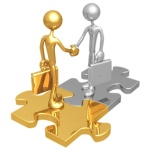 """""""Business Connection Puzzle"""" © Scott Maxwell / Fotolia #6097698."""