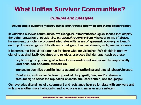 9 A Cultural Geography of Survivor Communities (Compilation